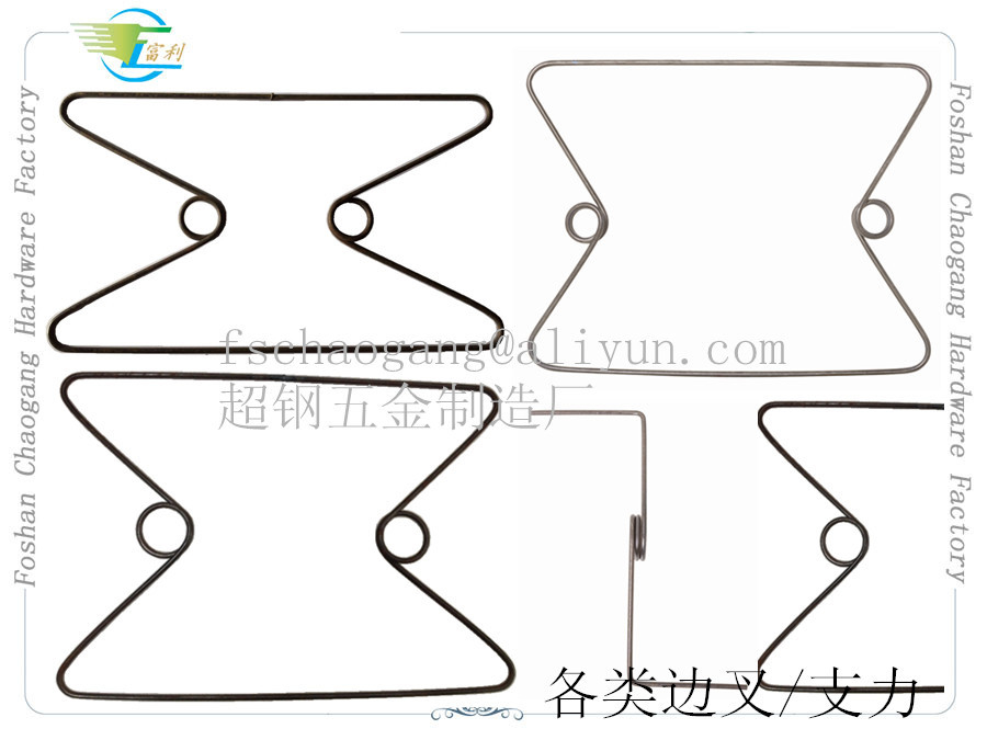 Z / M Shaped Mattress Edge Support Springs , Mattress Spring Accessories